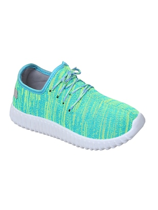 blue lace-up casual shoe -  online shopping for Casual Shoes