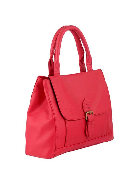 44ff7294f8 Buy Pink Leatherette Regular Handbag for Women from Bagsy Malone for ...