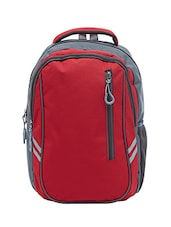 red polyester backpack -  online shopping for backpacks