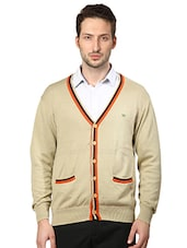 brown cotton cardigan -  online shopping for Cardigans