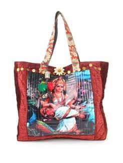 Red Goddess Tote Bag - The House Of Tara