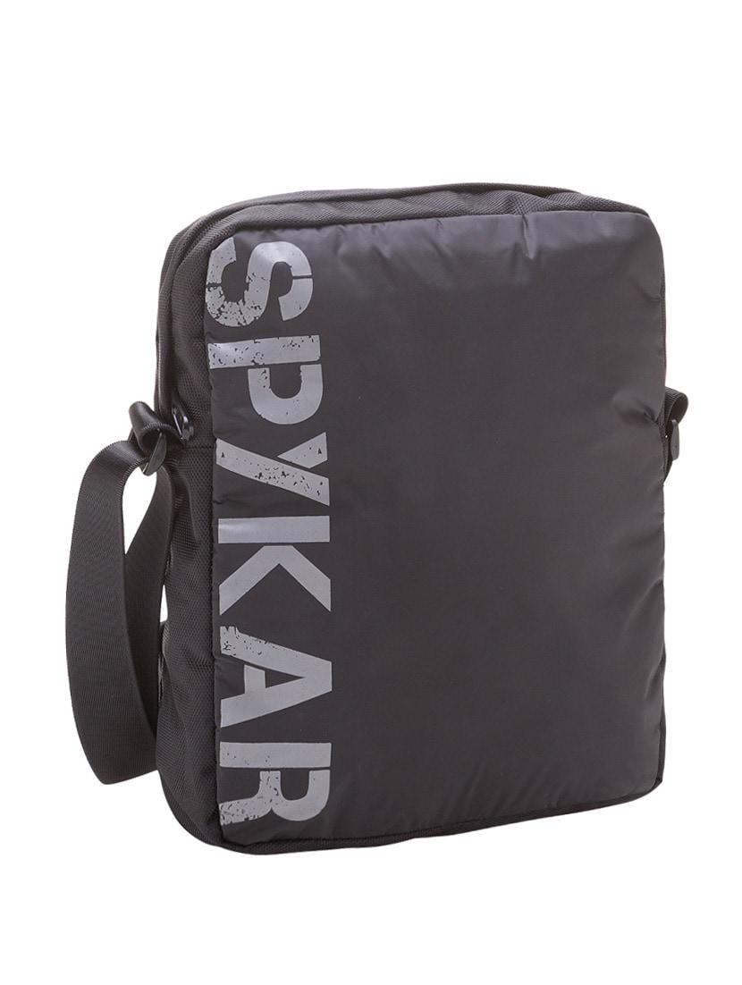 Buy Black Canvas Regular Messengerbag by Spykar - Online shopping for  Messengerbags in India  22ff92919b964