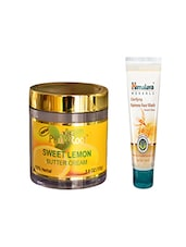 Pink Root Sweet Lemon Butter Cream (100gm) With Himalaya Clarifying Fairness Face Wash (100ml) Pack Of 2 - By