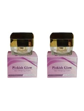 Pinkish Glow Skin Whitening Cream With Kojic And Vitamins 2 Pack - By