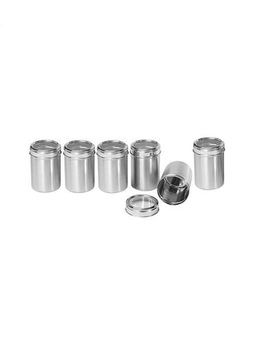 9f34ba46b3c Buy Shubham Kitchen Storage Steel Container 3 Pcs Set 300 To 525 Ml ...