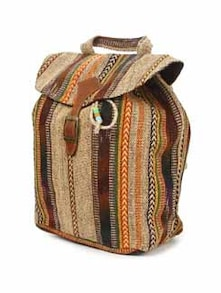 Cotton Canvas Backpack - The House Of Tara