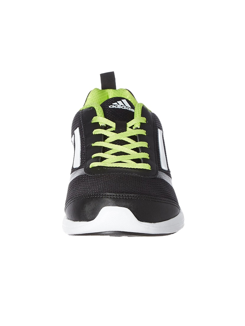 46a36f2a479 Buy Black Mesh Lace Up Sport Shoe by Adidas - Online shopping for Sport  Shoes in India