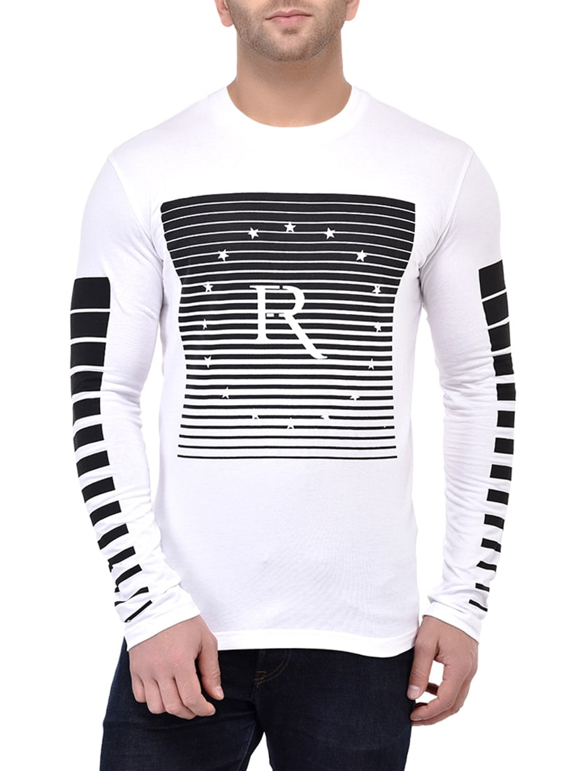 03d8abd809f1 Buy Monochrome Cotton T-shirt for Men from Gespo for ₹478 at 52% off