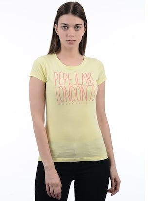 cb466cf831e5 Pepe jeans Tees - Buy Tees for Women Online in India | Limeroad.com