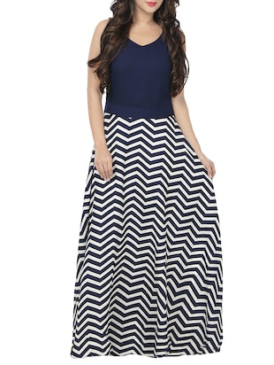 White maxi dresses online india