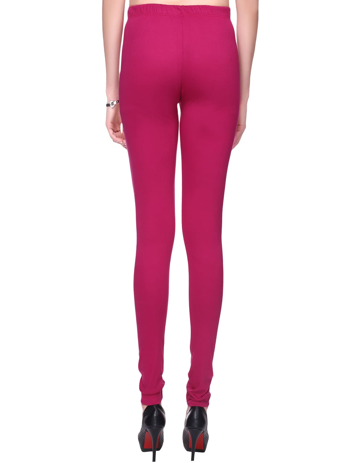 6cf19f629e8a7c Buy Pink Cotton Leggings for Women from Trasa for ₹356 at 49% off | 2019  Limeroad.com