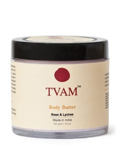 Body Butter-Rose, Honey, Lychee - Tvam
