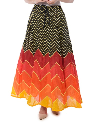 14da32eac1 #1 'Multi colored raw silk pleated skirt' & similar products.