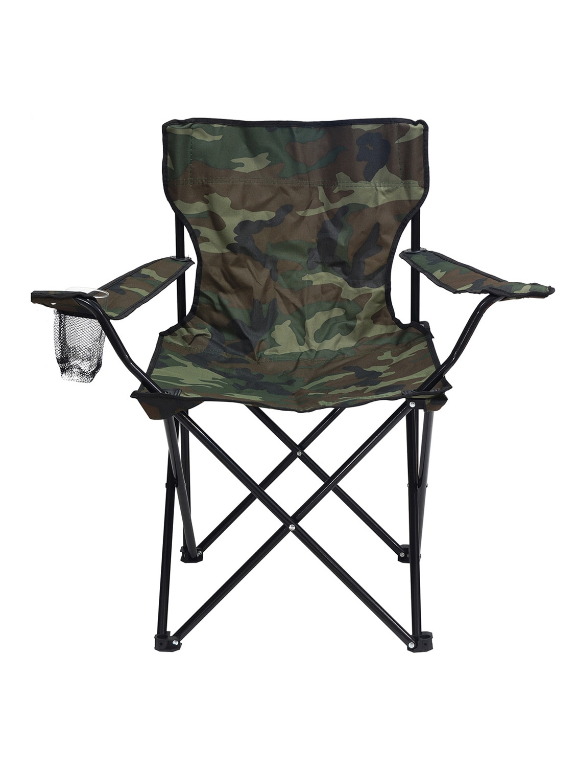 Story Home Quad Portable Folding Camping Chair Green