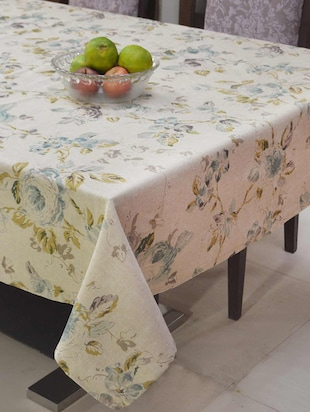 Floral Print Table Cover -  online shopping for Table Cloths