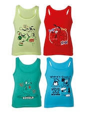 multi cotton vest -  online shopping for vests