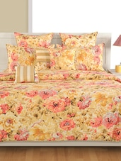 Cotton Printed Single Bed Comforter With Polyfill Filler -  online shopping for Quilts and comforters