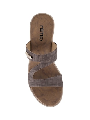 brown platforms sandal - 14422742 - Standard Image - 4