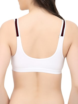 set of 3 white hosery bra - 14424871 - Standard Image - 4