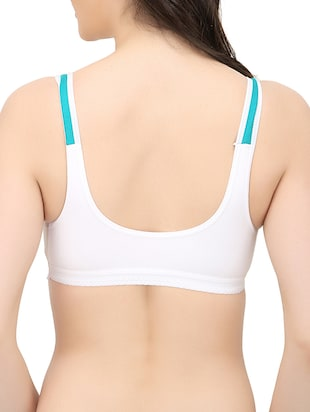 set of 3 white hosery bra - 14424871 - Standard Image - 7