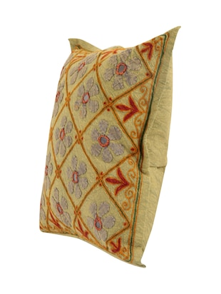 Cotton Single Rajasthani Traditional Cushion Cover By Rajrang - 14425255 - Standard Image - 4
