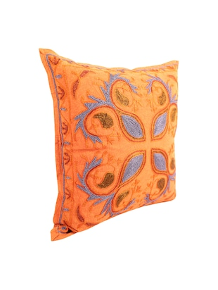 Cotton Single Rajasthani Traditional Cushion Cover By Rajrang - 14425263 - Standard Image - 4