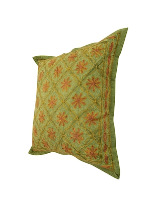 Cotton Single Rajasthani Traditional Cushion Cover By Rajrang - 14425279 - Standard Image - 4