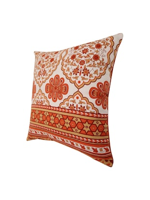 Cotton Single Rajasthani Traditional Cushion Cover By Rajrang - 14425292 - Standard Image - 4