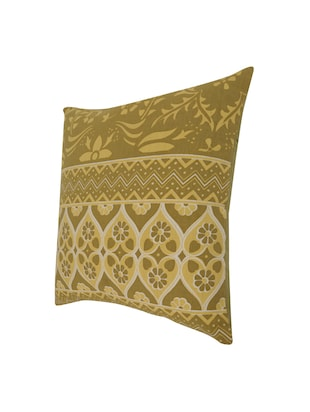Cotton Single Rajasthani Traditional Cushion Cover By Rajrang - 14425294 - Standard Image - 4