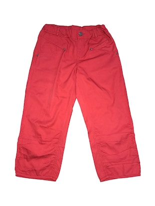 red cotton three-fourth shorts -  online shopping for shorts and three-fourths