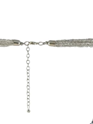 multi metal long necklace - 14429227 - Standard Image - 4