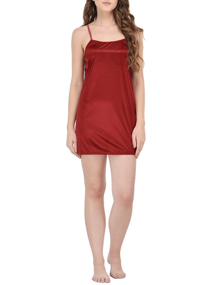 962300ab2 Buy Red Satin Nightwear Set for Women from You Forever for ₹673 at 44% off