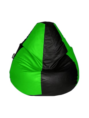 Giant Designer Recliner Bean Bag Green