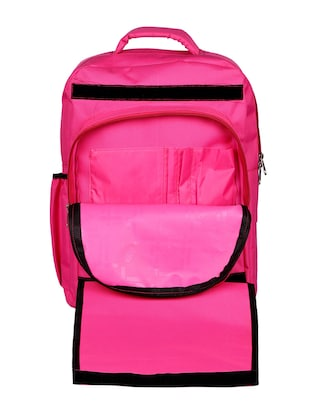 pink canvas bag - 14438233 - Standard Image - 4