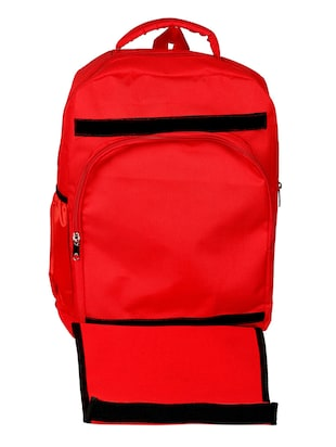 red canvas bag - 14438339 - Standard Image - 4