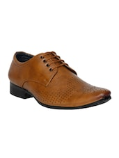 brown formal derby -  online shopping for Derbies