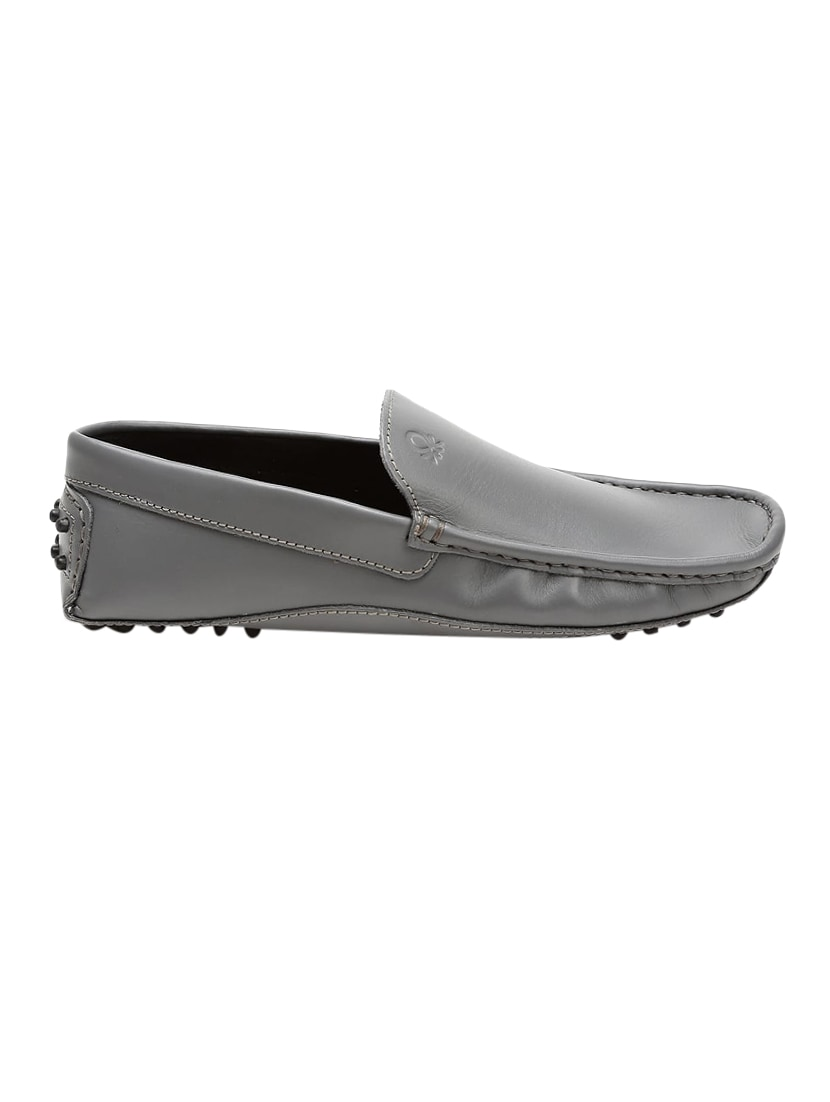 ef32f6cdc1d Buy Grey Leather Slip On Loafers for Men from United Colors Of Benetton for  ₹3499 at 0% off