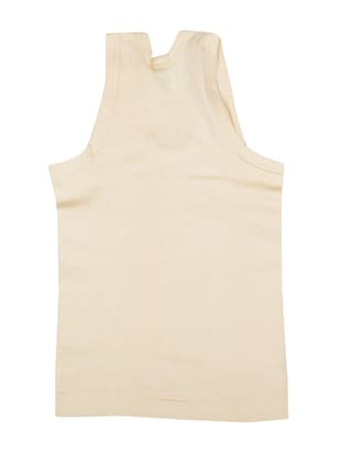 multi colored cotton vest - 14455813 - Standard Image - 4