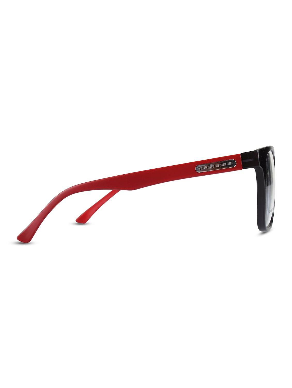 b7058a6f705 Buy Reactr- Square Glasses Premium Optical Specs Full Frame Eyeglasses For  Men (black