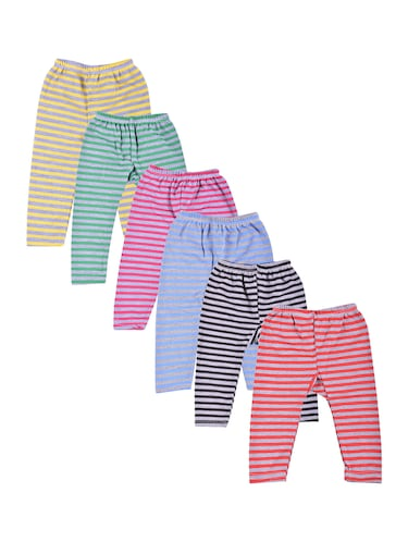 multi colored cotton blend pyjamas - 14476249 - Standard Image - 1