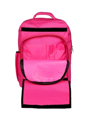 pink canvas bag - 14478953 - Standard Image - 4