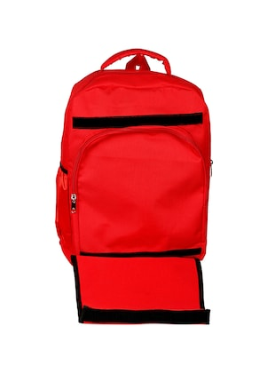 red canvas bag - 14479057 - Standard Image - 4