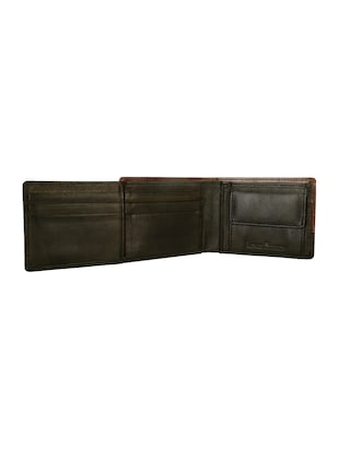 brown leather wallet - 14479258 - Standard Image - 4