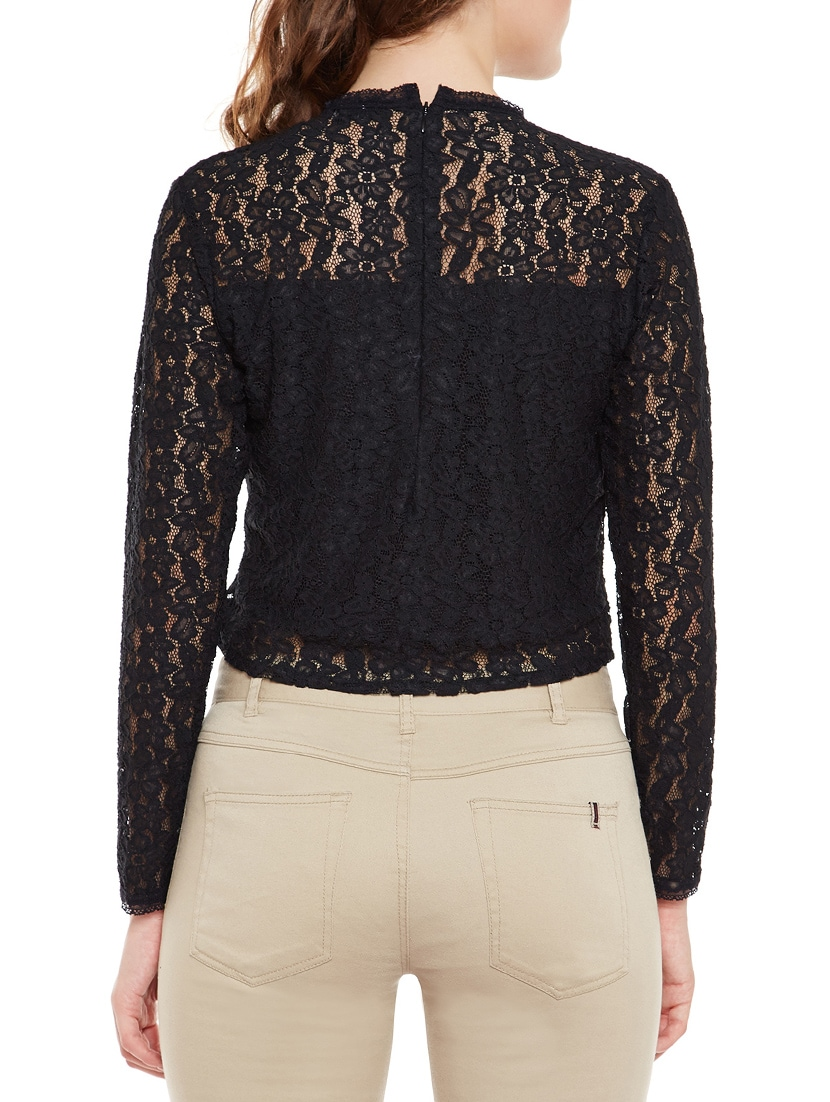 0e6ae0febe9 Buy Black Net Crop Top for Women from Martini for ₹788 at 17% off ...