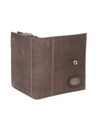 brown leather wallet - 14484638 - Standard Image - 4