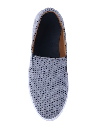 grey casual slipon - 14486536 - Standard Image - 4