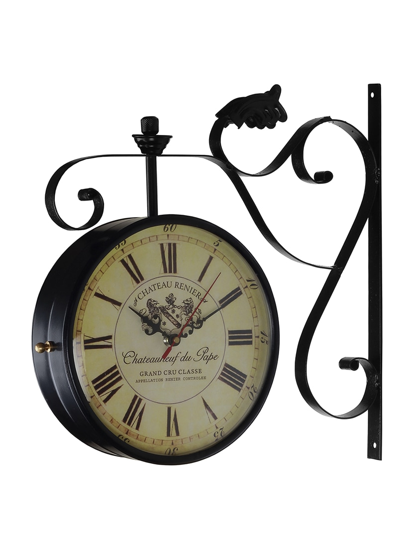 buy dial black european style double sided vintage wall clock by double sided vintage wall clock