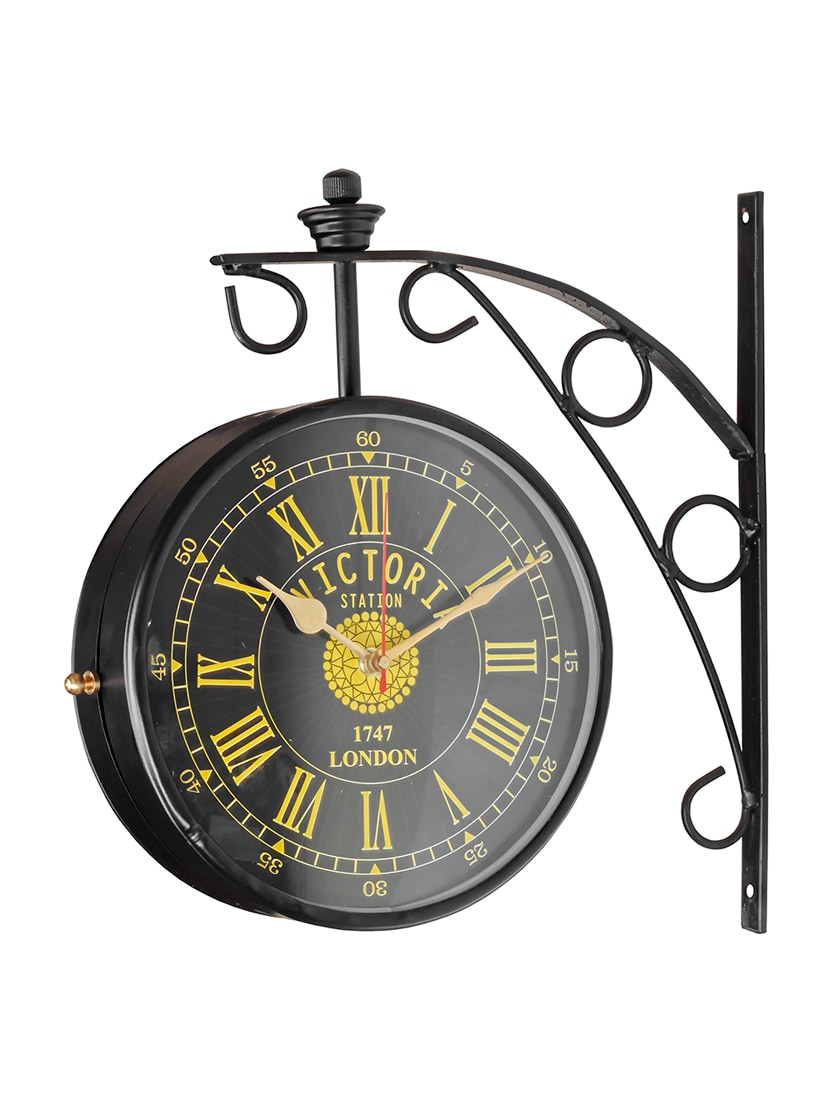 double sided victorian vintage wall clock tn1 explore this look hover over image to zoom