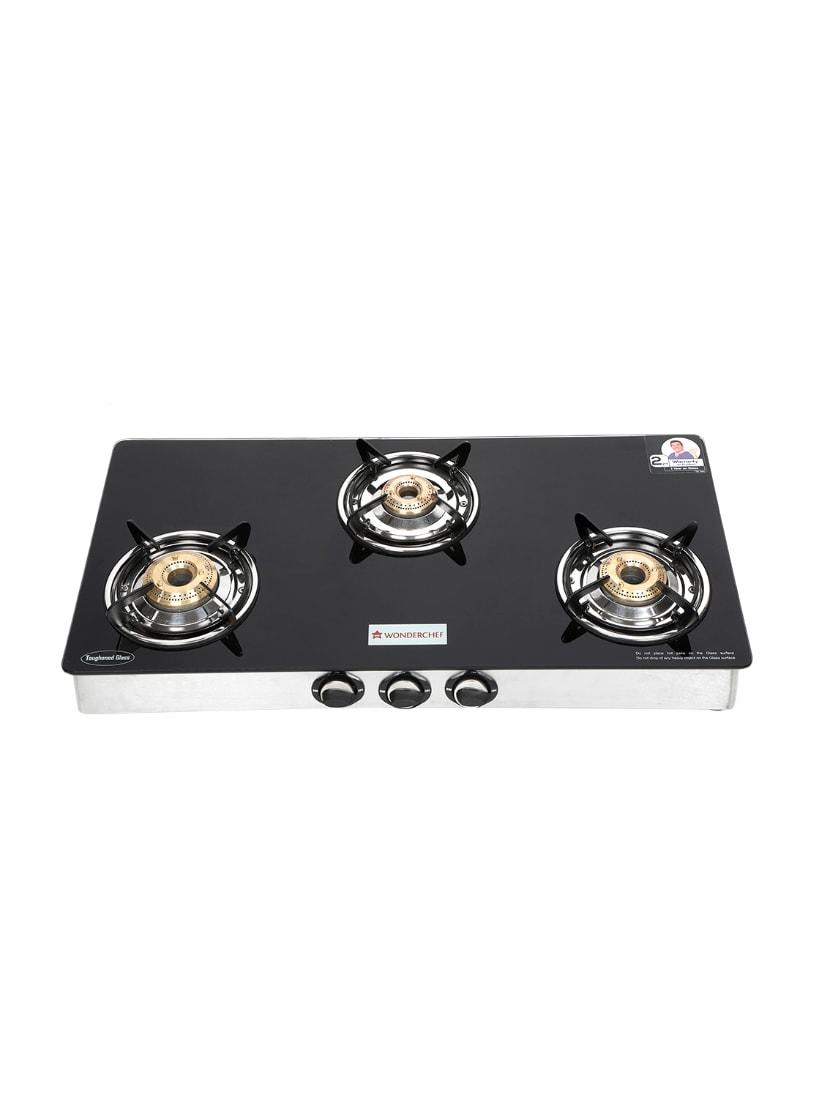 8c68ed21a Buy Wonderchef Zest Glass Cooktop 3 Burner for Unisex from Wonderchef for  ₹5760 at 28% off