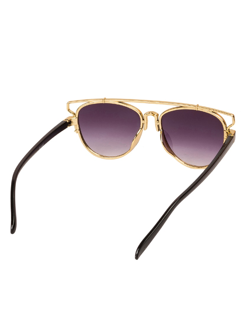 fdb74bebf05a Buy Arzonai Mexico Black Ma-047-s4 Women s Square Sunglasses by Arzonai -  Online shopping for Sunglasses in India